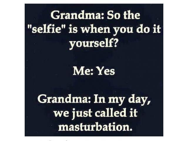 Granny's Selfie