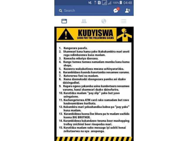 Kudyiswa explained